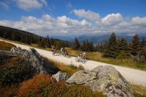Mountainbiken im Joglland