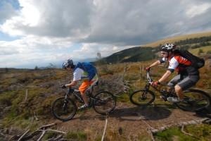Foto Mountainbiken im Joglland