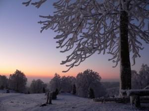 MTB Winter Traumlandschaften beim Biken