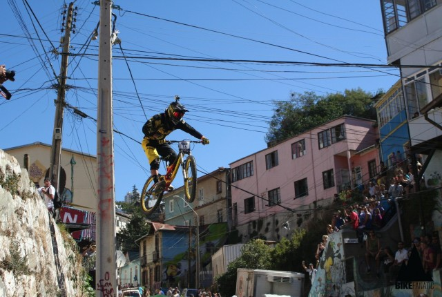 Valparaiso Urban Downhill 2013 - Foto: