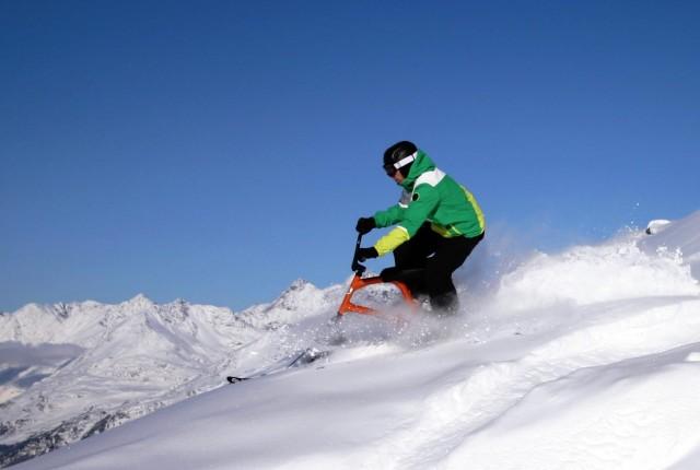 Skibike Sledgehammer – besonderer Spaß im Schnee!