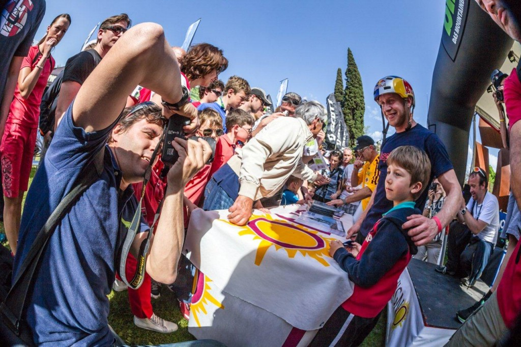 Danny MacAskill 2013 Riva Signing Session