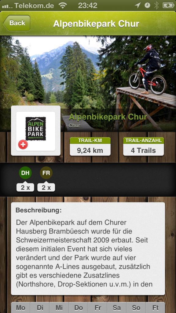 Bikeparks App 2.0