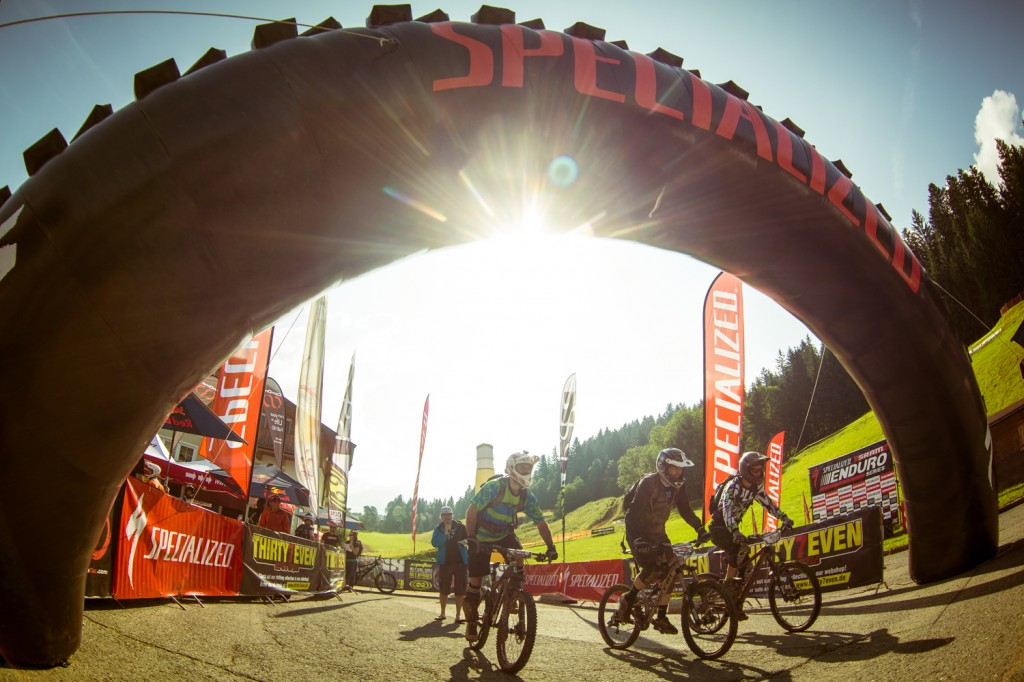 Start Kirchberg - Specialized-SRAM Enduro Series