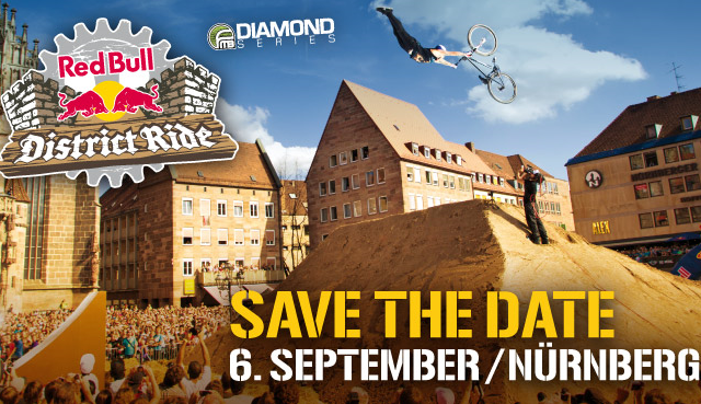 News und Videos: Red Bull District Ride 2014 in Nürnberg