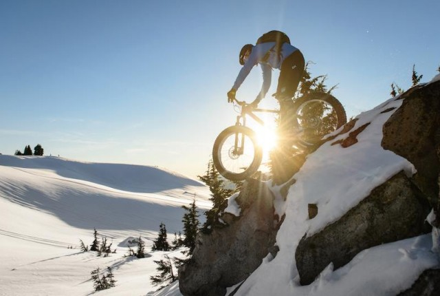Top-Story:  Fatbike Tour durch Schnee-Trails