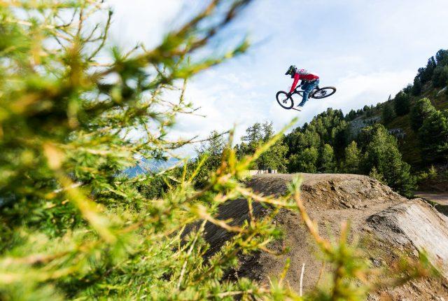 Legende: Timo Pritzel auf Marin Bikes unterwegs