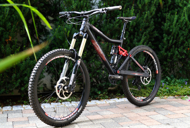 Verkauf: Last Bikes Herb 180 Trail Custom Aufbau