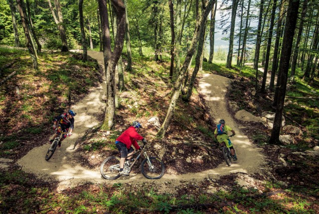 MTB Kärnten: Flow Country Trail Petzen Camp