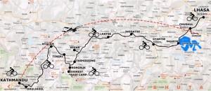 Karte-tour-biker