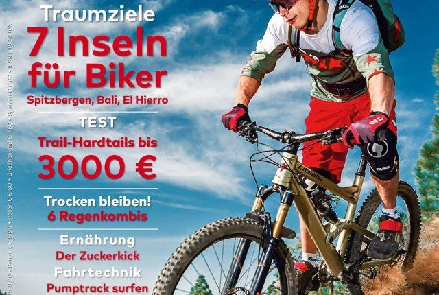 Heftinhaltsvorschau: bikesport Magazin 1/2017