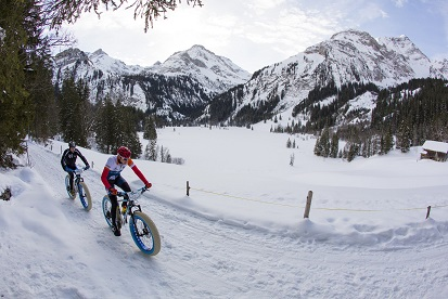 MTB Livigno: Winter-Saison Fatbike Action!