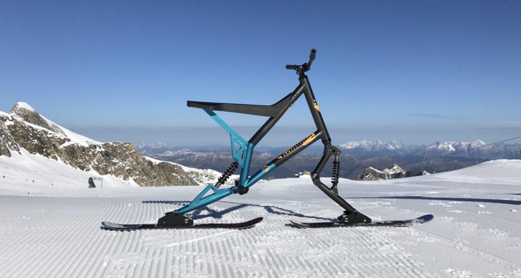 Sledgehammer-Skibike - so viel Spass im Schnee