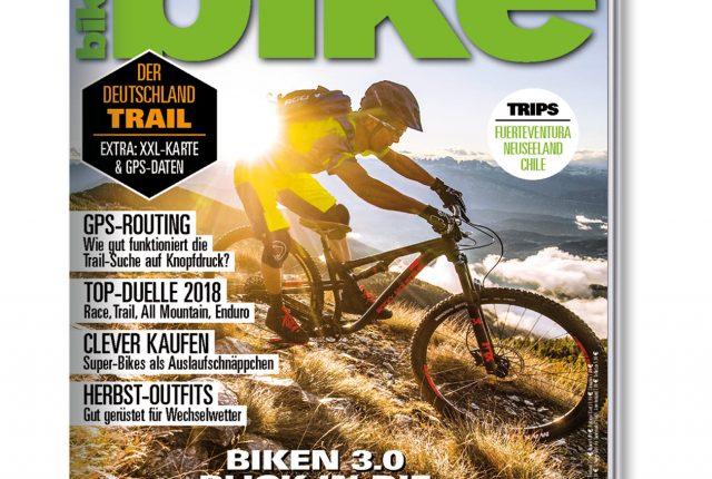Neue Ausgabe: BIKE Magazin Heftinhalte