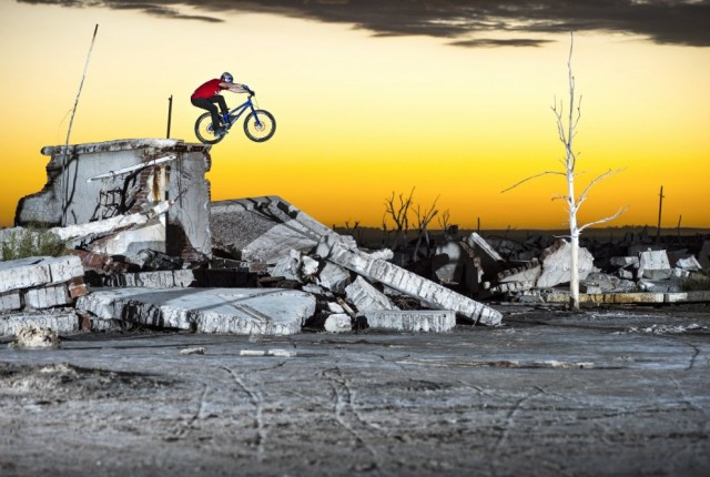 Danny MacAskill Video Epecuen - Foto: Fred Murray / Red Bull Content Pool